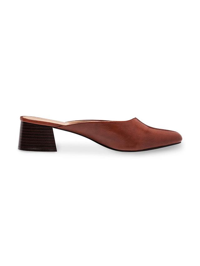 best block heel mules