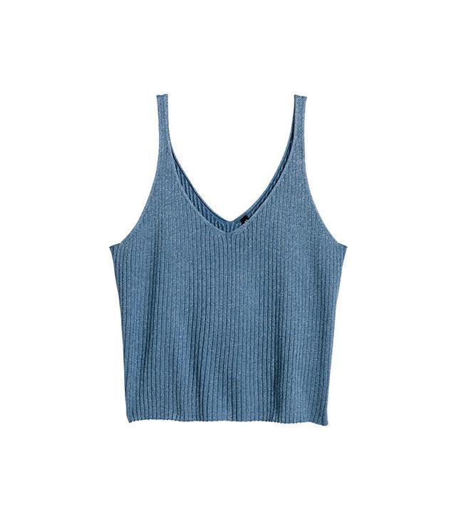H&M Rib-Knit Tank Top