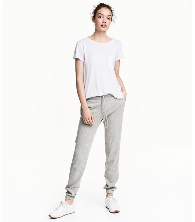 H&M Sweatpants Skinny Fit