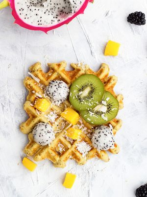 3 Surprisingly Healthy Waffle Recipes to Try for Brunch This Weekend