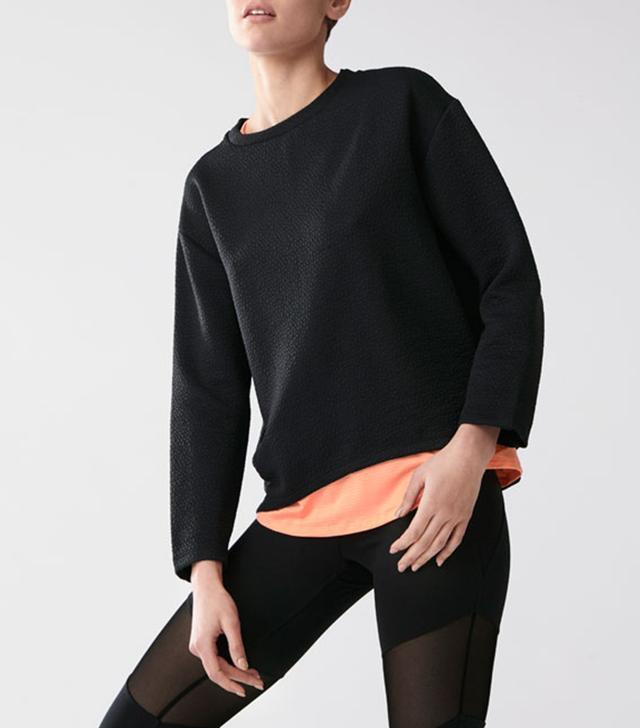 cute yoga outfits - Oysho Sweatshirt