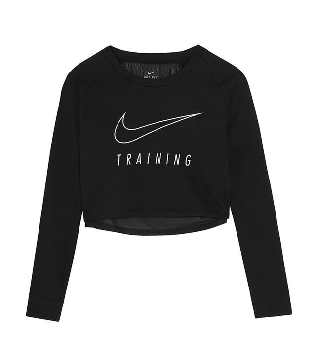 cute yoga outfits - Nike Cropped Sweatshirt