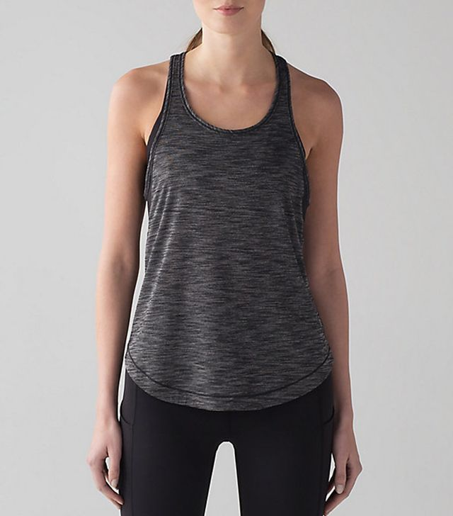 cute yoga outfits - Lululemon Long Distance Tank