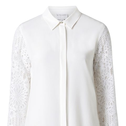 Silk Lace Shirt