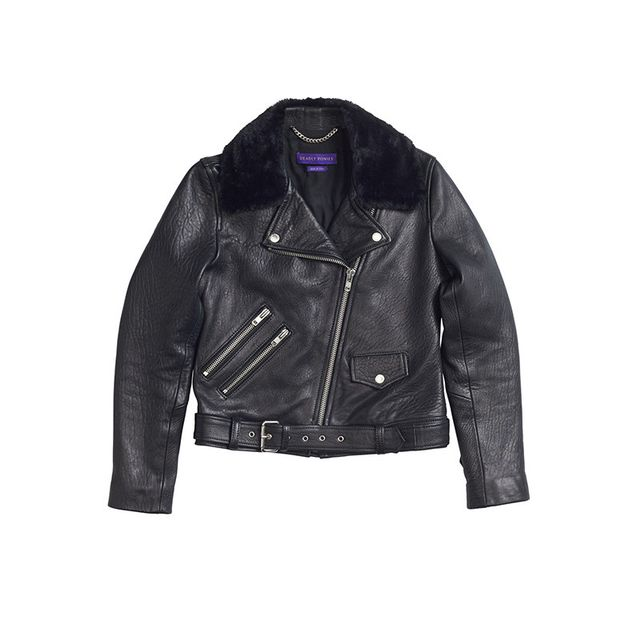 Deadly Ponies Pony Rider Leather Jacket
