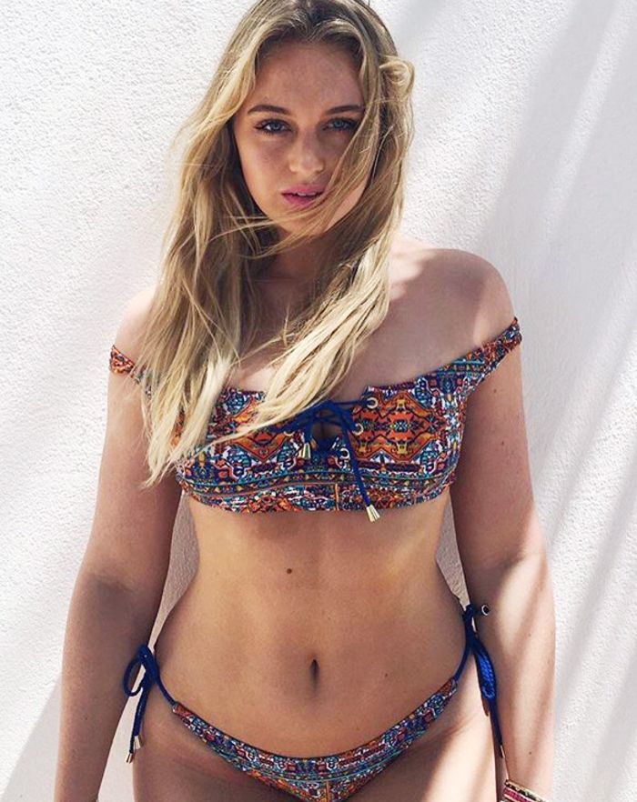 How to Be Confident in a Bikini: Iskra Lawrence