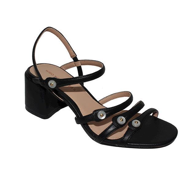 best strappy heeled sandals