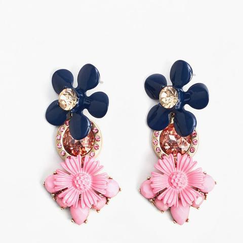 Mixed Flower Earrings