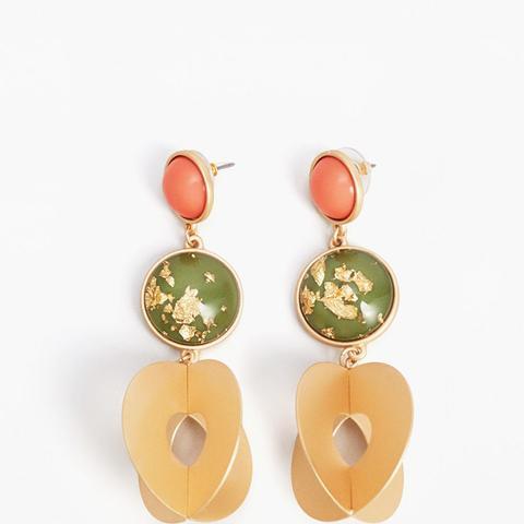 Mixed Pendant Earrings