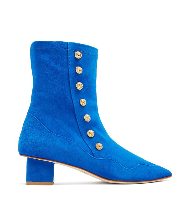 Kingly Street Suede Ankle Boots