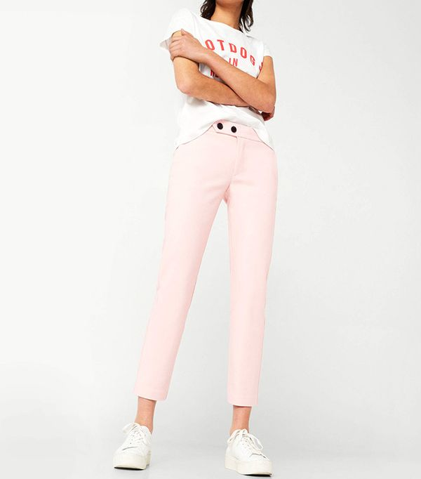 best pink trousers
