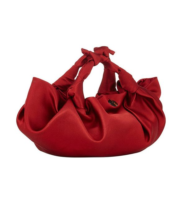 the row red ascot bag