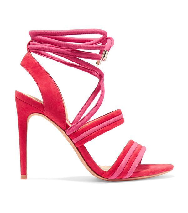best pink and red heels