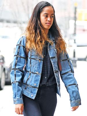 The Malia Obama Way to Wear Skinny Jeans and Sneakers
