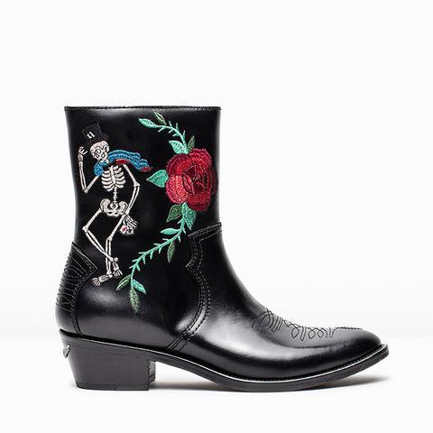 Pilar Embroirderd Boots