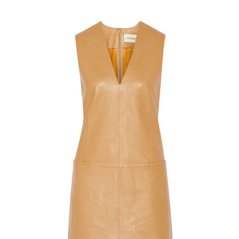 Gade Leather Mini Leather Dress