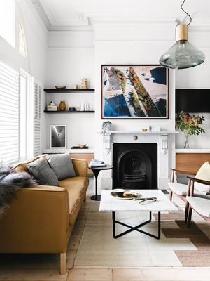 Add This Final Touch to Your Living Room, and No One Will Guess It's a Rental