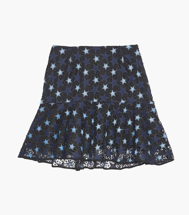 Sandro Lace Star Skirt