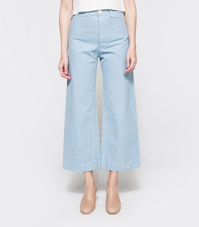 best high-waisted trousers: Jesse Kamm sailor pants