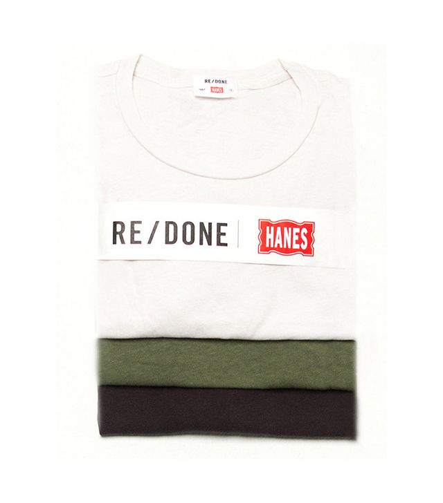 best t-shirts: Re/Done Hanes