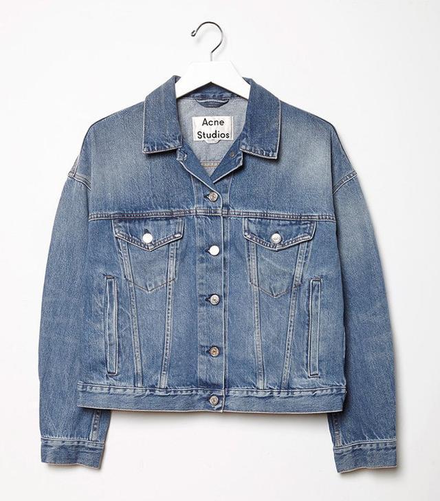 best denim jacket- acne studios Lab Denim Jacket