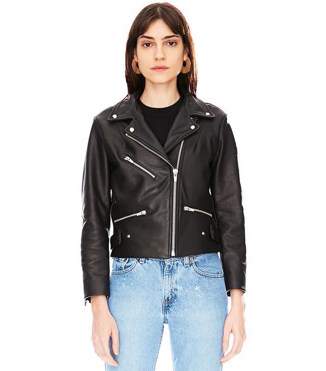 best affordable leather jacket- veda Grand Leather Jacket