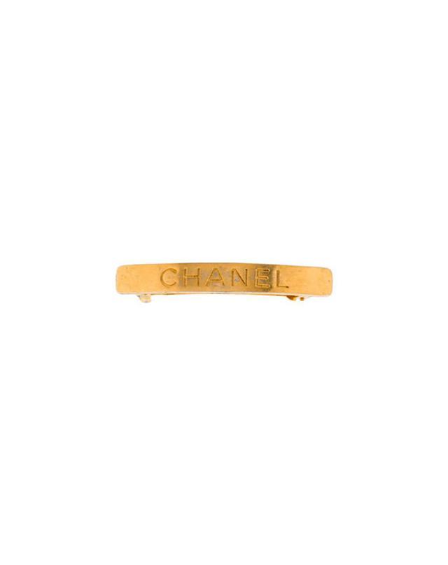Chanel Logo Barette