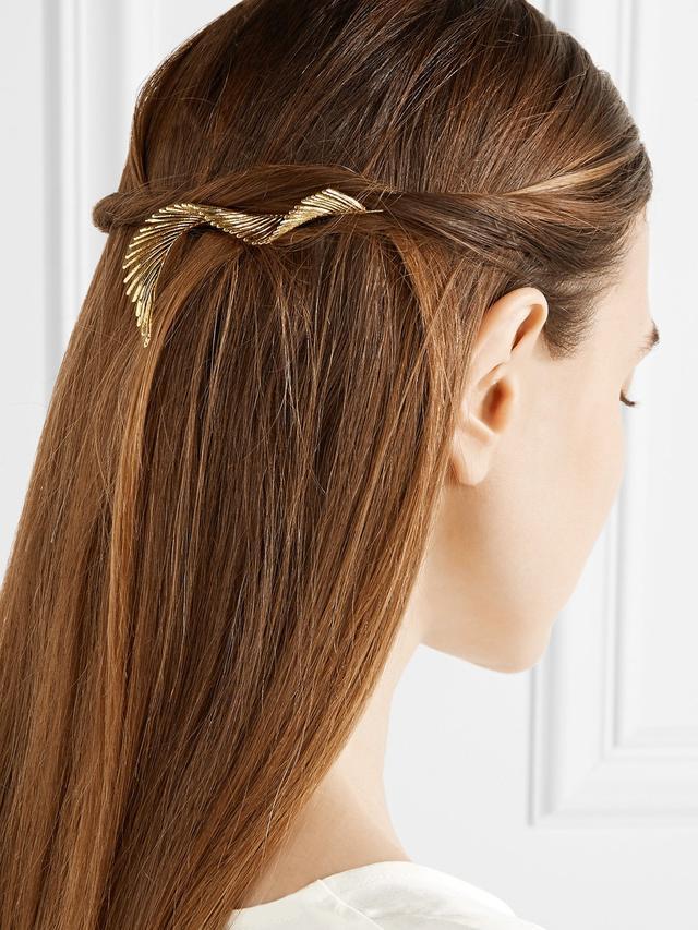 Lelet NY Gold-Plated Hair Slide