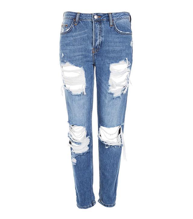 Topshop Cheeky Rip Hayden Jeans