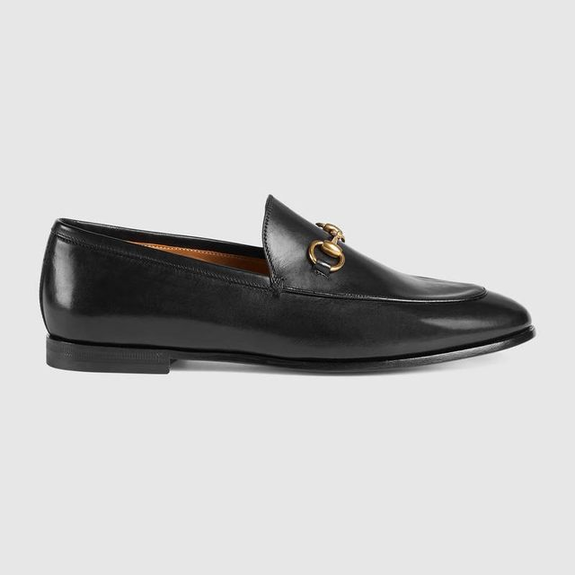 Gucci loafers - Gucci Jordaan Leather Loafer