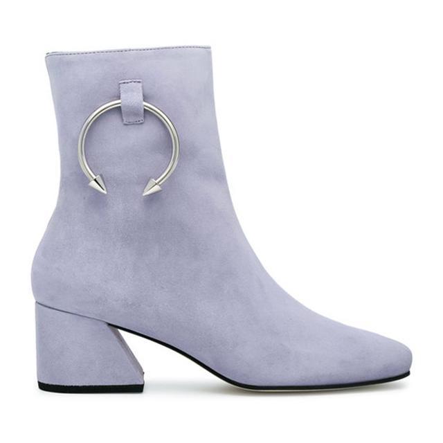 best block heel boots: Étoile Isabel Marant Deyis Boots
