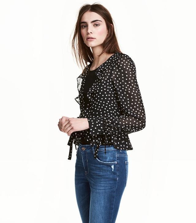 best polka dot blouse