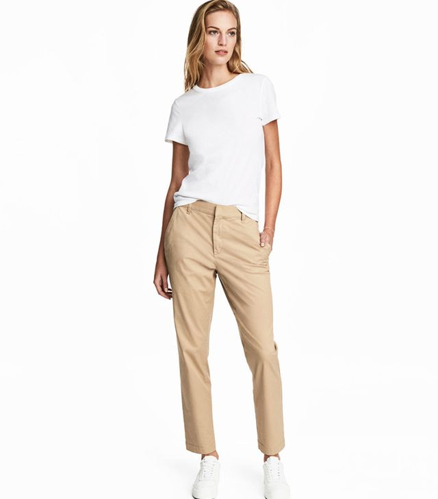 best affordable chinos- H&M