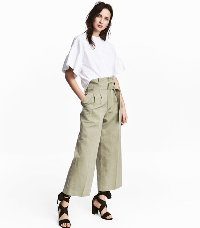 best high-waisted spring pants