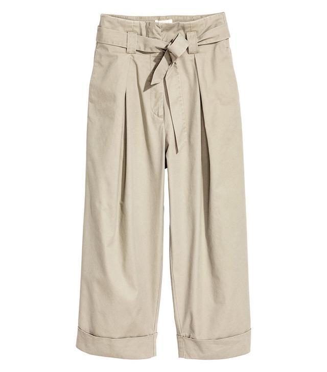 best tie-waist khaki pants