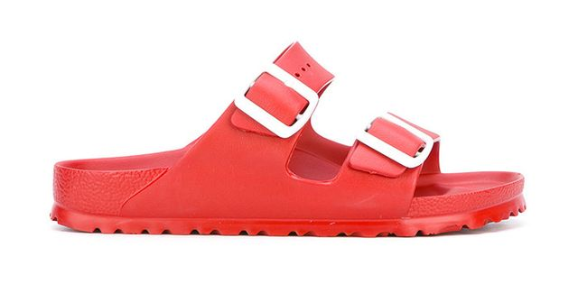 Birkenstock Buckle Slider Sandals