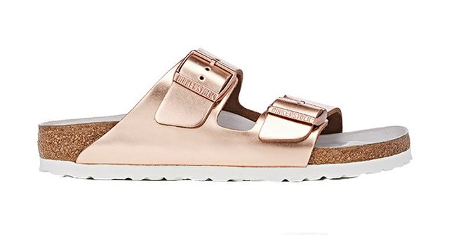 Birkenstock Arizona Leather Double-Buckle Sandals