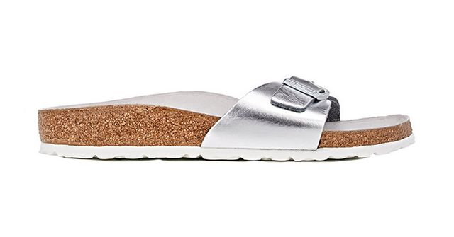 Birkenstock Madrid Leather Buckle-Strap Sandals