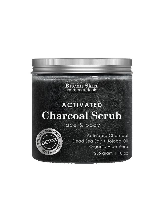 Buena Skin Activated Charcoal Scrub
