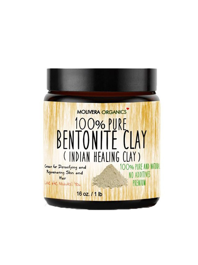 Molivera Organics 100% Pure Bentonite Clay Mask - Best Face Masks