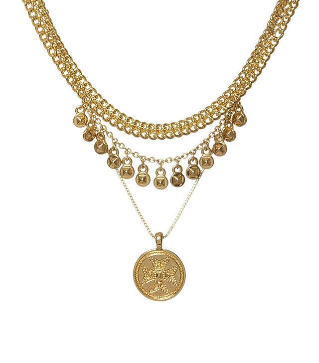 Luv AJ x Sabo Luxe Noa Coin Charm Necklace