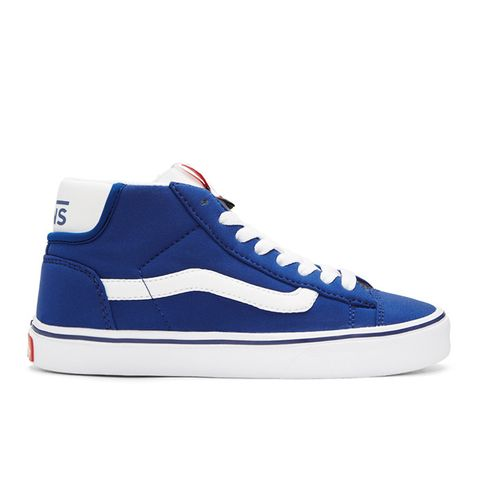Blue Schoeller Edition Mid Skool Lite LX Sneakers
