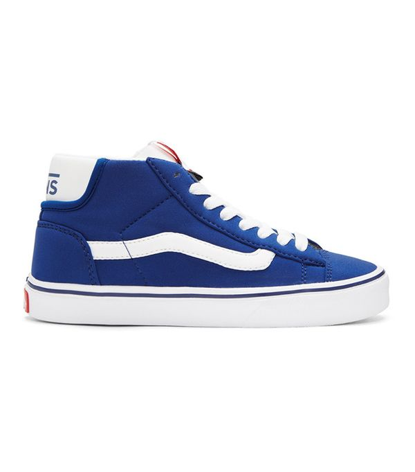 vans blue high top