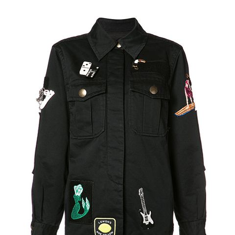 Multi Patched Jacket