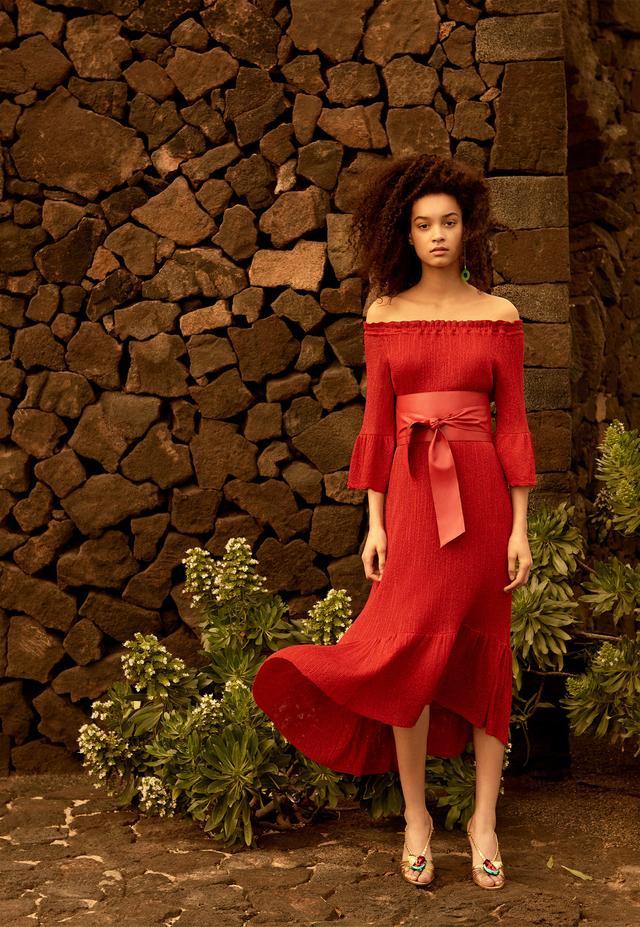 Zara Boatneck Dress