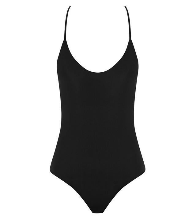 best simple black swimsuit- Matteau