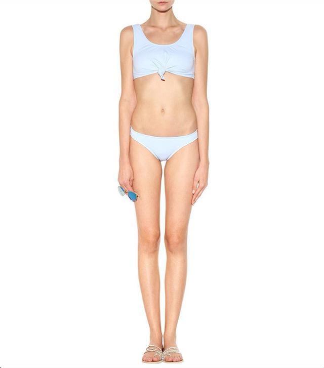 best blue bikini- beth richards knot