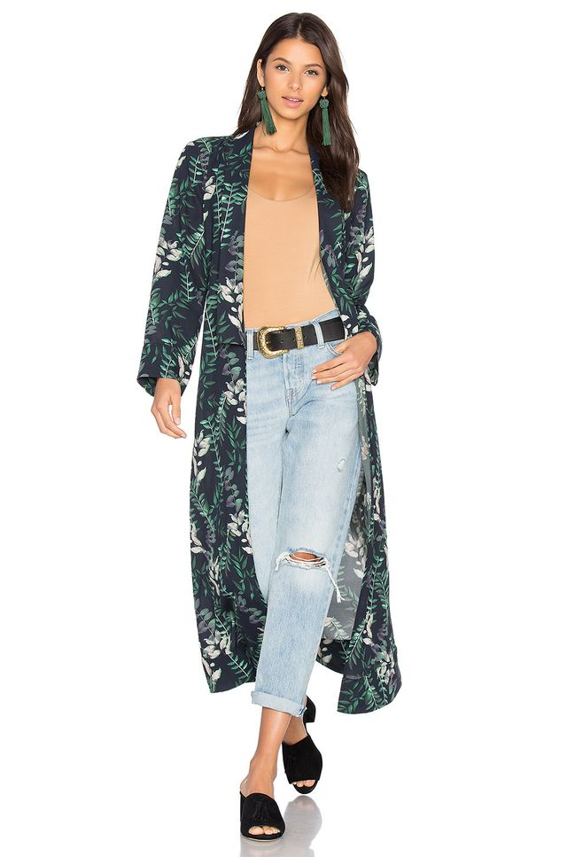 x REVOLVE Yoselin Maxi Bed Jacket