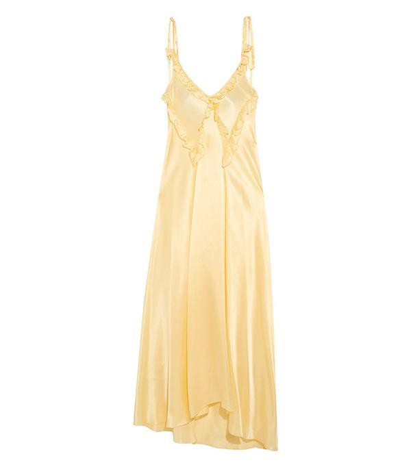 attico ruffle dress
