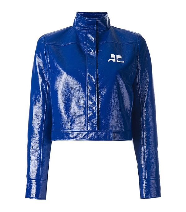 Courrèges Vinyl jacket
